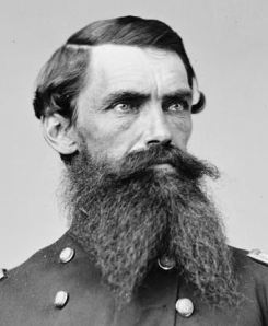 Lt. Col. David Hunter Strother, ca. 1862, Library of Congress