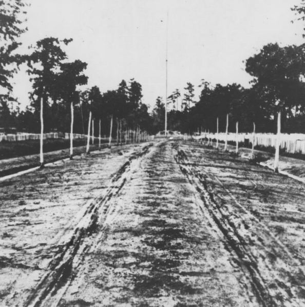 Main avenue, Andersonville National Cemetery, 1870.