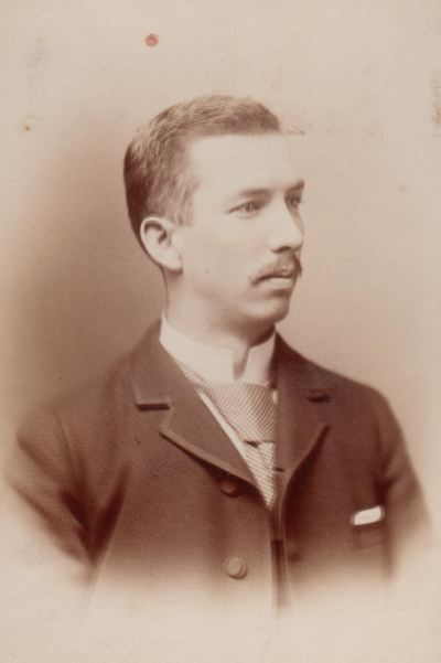 Cyrus Clifford Moore (1866-1935). This photo was taken ca. 1900.