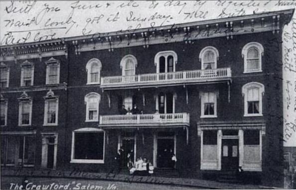 """The Crawford"", Salem, Virginia."